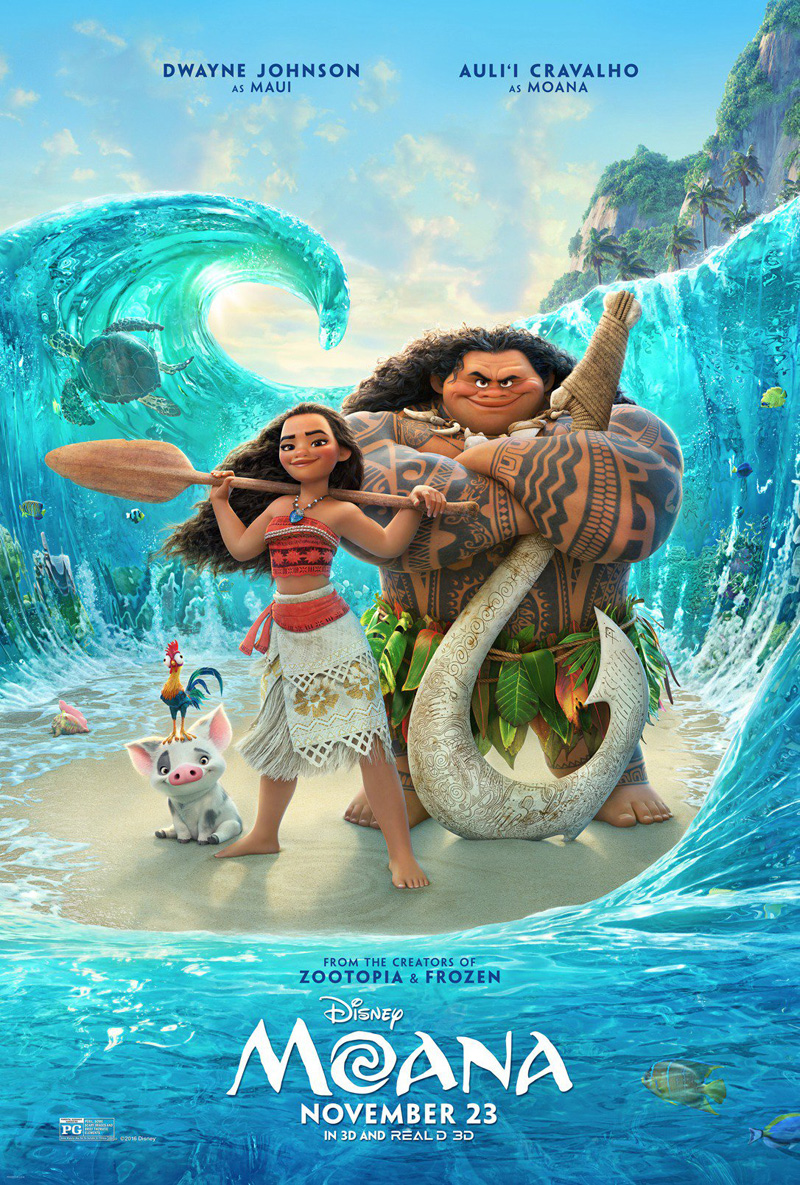 Hear Dwayne Johnson Sing A Tune In New Clip For Disney's Moana