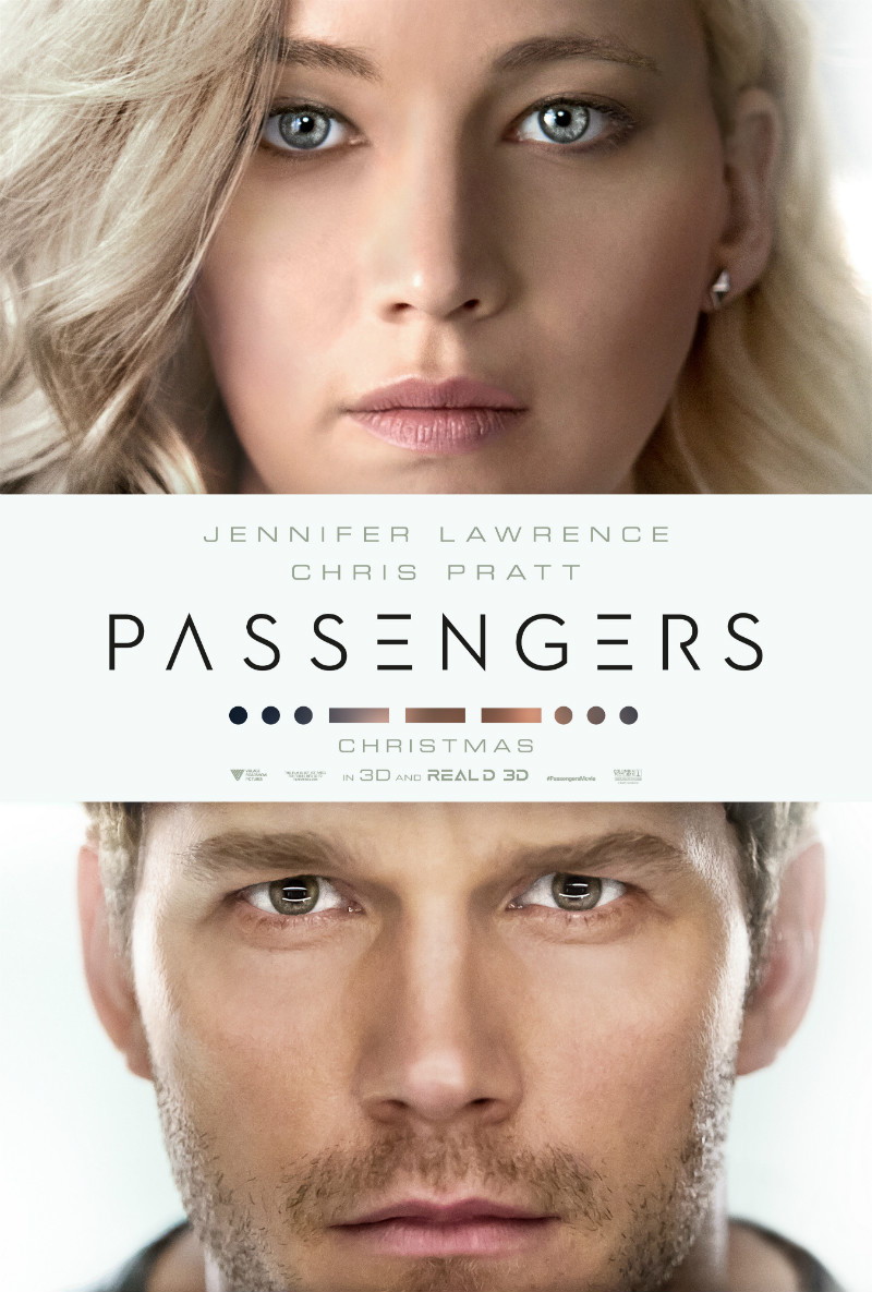 First Passengers Poster Tees Up An Intergalactic Love Story