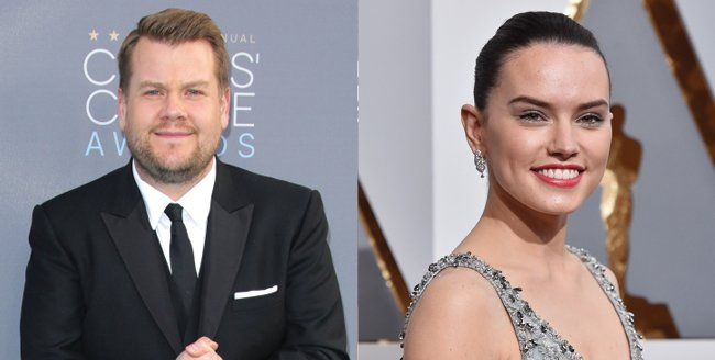 James Corden And Daisy Ridley Set To Tell The Tale Of Peter Rabbit