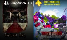PlayStation Plus Lineup For October 2016 Features Transformers: Devastation And A Horror Icon