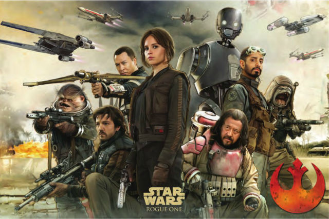 Promotional Artwork For Rogue One Showcases Both Sides Of The Force