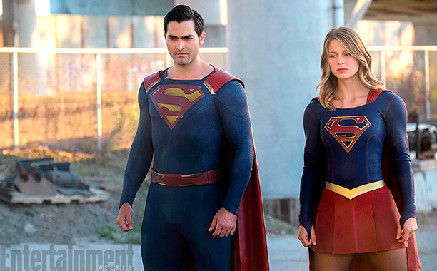 New Image From Supergirl Season 2 Puts The Spotlight On Tyler Hoechlin's Superman