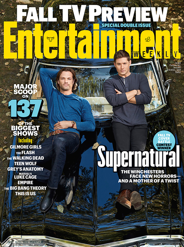 Supernatural Finally Lands The Cover Of Entertainment Weekly