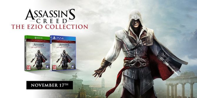 Assassin's Creed: The Ezio Collection Is Official, Launches November 17 On PS4 & Xbox One
