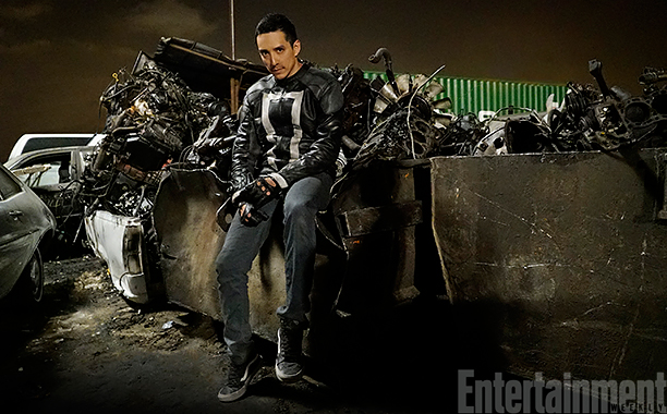 First Official Photo And Footage Of Agents Of S.H.I.E.L.D.'S Ghost Rider