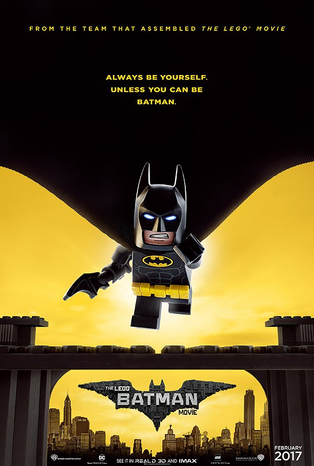 LEGO Batman Movie (2017) poster