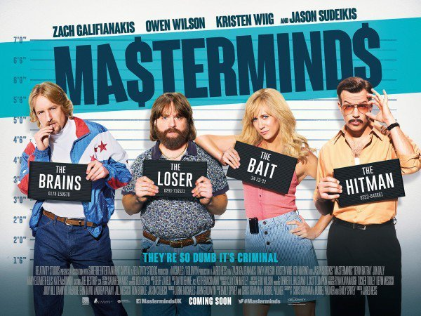 Masterminds Review