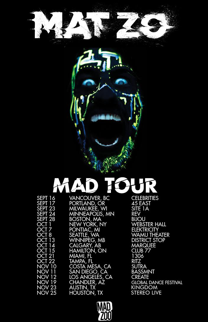 Mat Zo Drops Mad EP Ahead Of Accompanying Tour