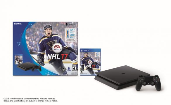 Uncharted 4 And NHL 2017 PlayStation 4 Slim Bundles Announced For North America