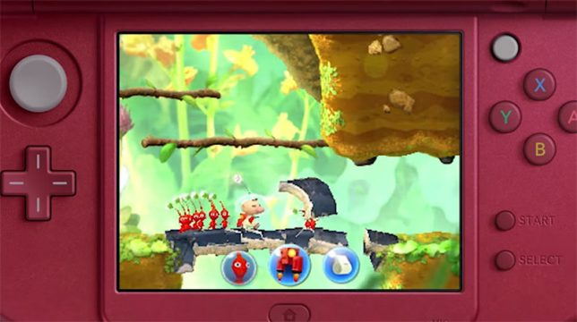 Sidescrolling Pikmin Game Announced For 3DS