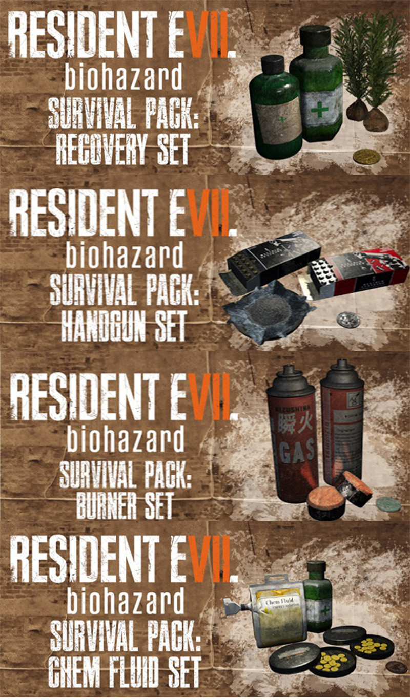 Resident Evil 7's Pre-Order DLC Contents Outed Early By Swedish Retailer
