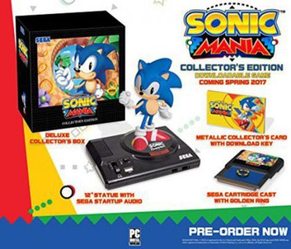 [UPDATED] Report: Sonic Mania Collector's Edition Leaked Online, Includes Retro Statue And Cartridge