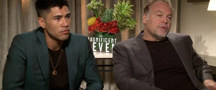 Exclusive Video Interview: Vincent D'Onofrio And Martin Sensmeier Talk The Magnificent Seven