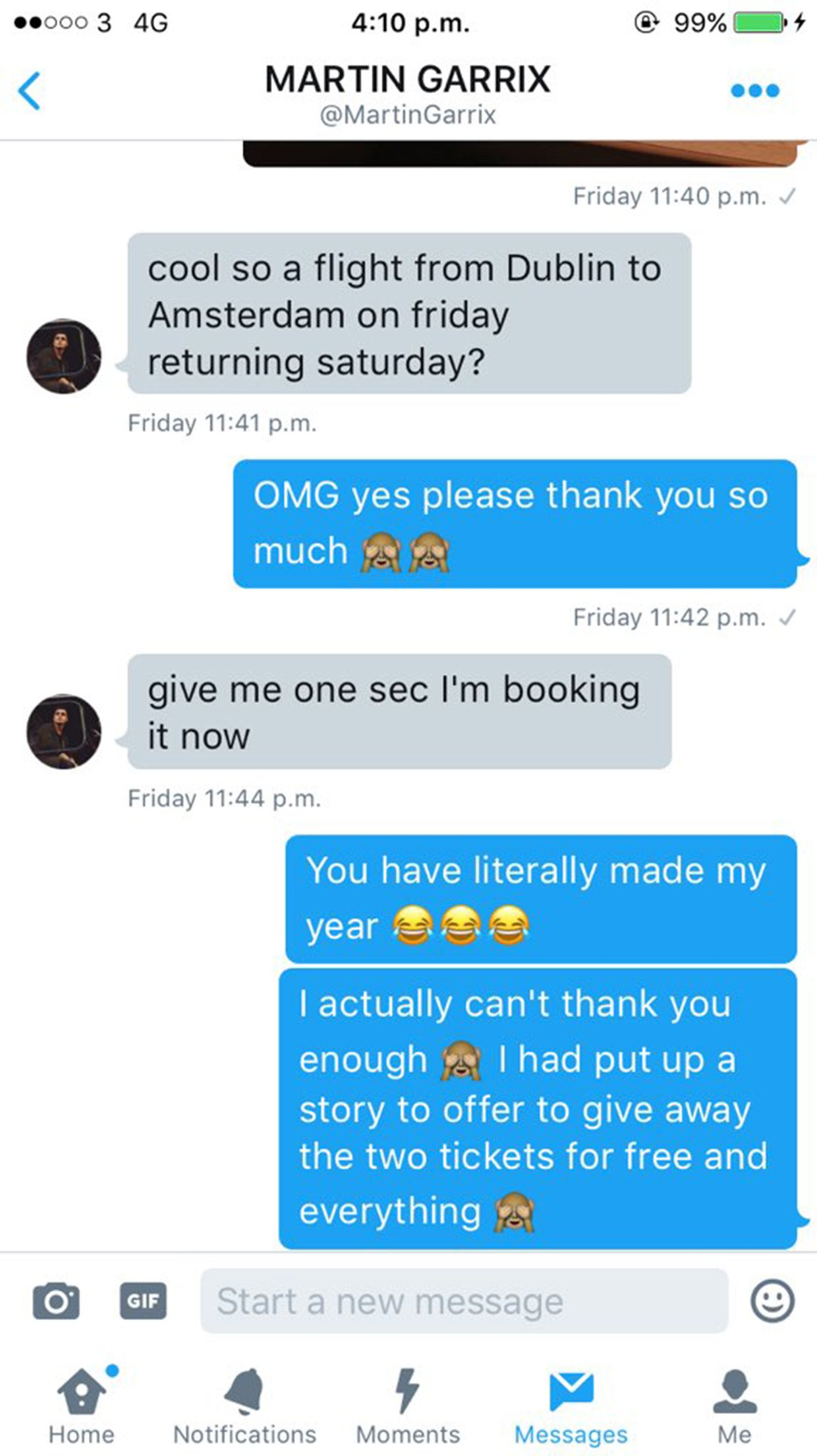 Martin Garrix Helps Get Fan To His Show In Amsterdam