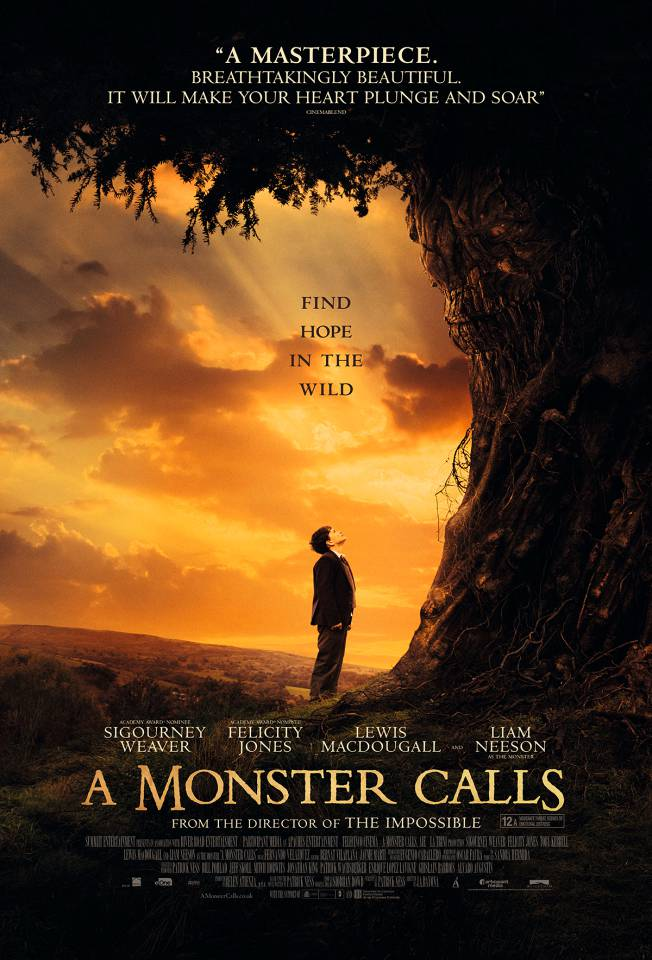 Sun-Kissed Poster For A Monster Calls Teases A Grand Tear-Jerker