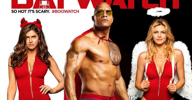 The Baywatch Cast Get Spooky In Two New Halloween Posters