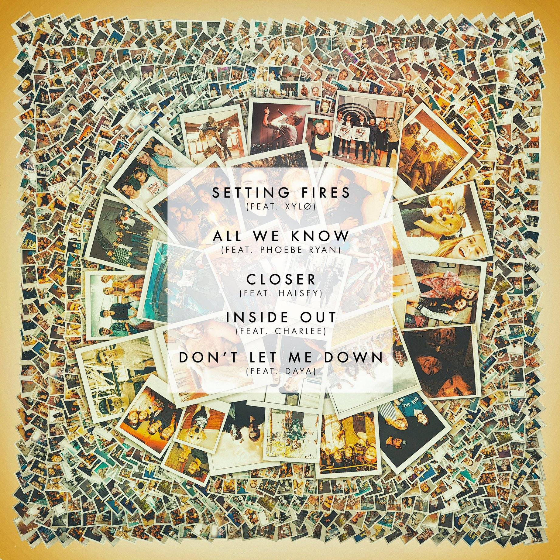 The Chainsmokers Reveal Full Tracklist For Their Collage EP