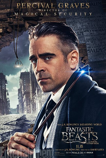 Fantastic Beasts And Where To Find Them Character Posters Divide Friend From Foe
