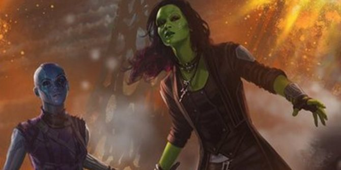 Guardians Of The Galaxy Vol. 2 Will Blow Past The Bechdel Test - And Then Some