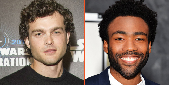 Han Solo: Alden Ehrenreich And Donald Glover Talk Casting Process And More