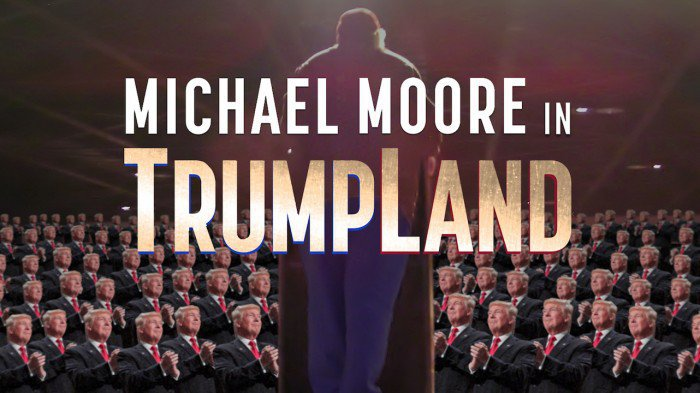 Michael Moore In TrumpLand: Filmmaker Drops Surprise Movie On Eve Of US Election