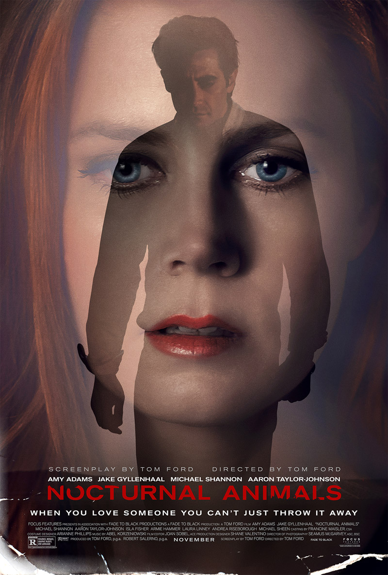 Stark New Poster For Nocturnal Animals Drums Up Film Noir Tenets
