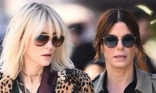 Sandra Bullock And Cate Blanchett Hit Up The Big Apple In First Ocean's Eight Set Photos