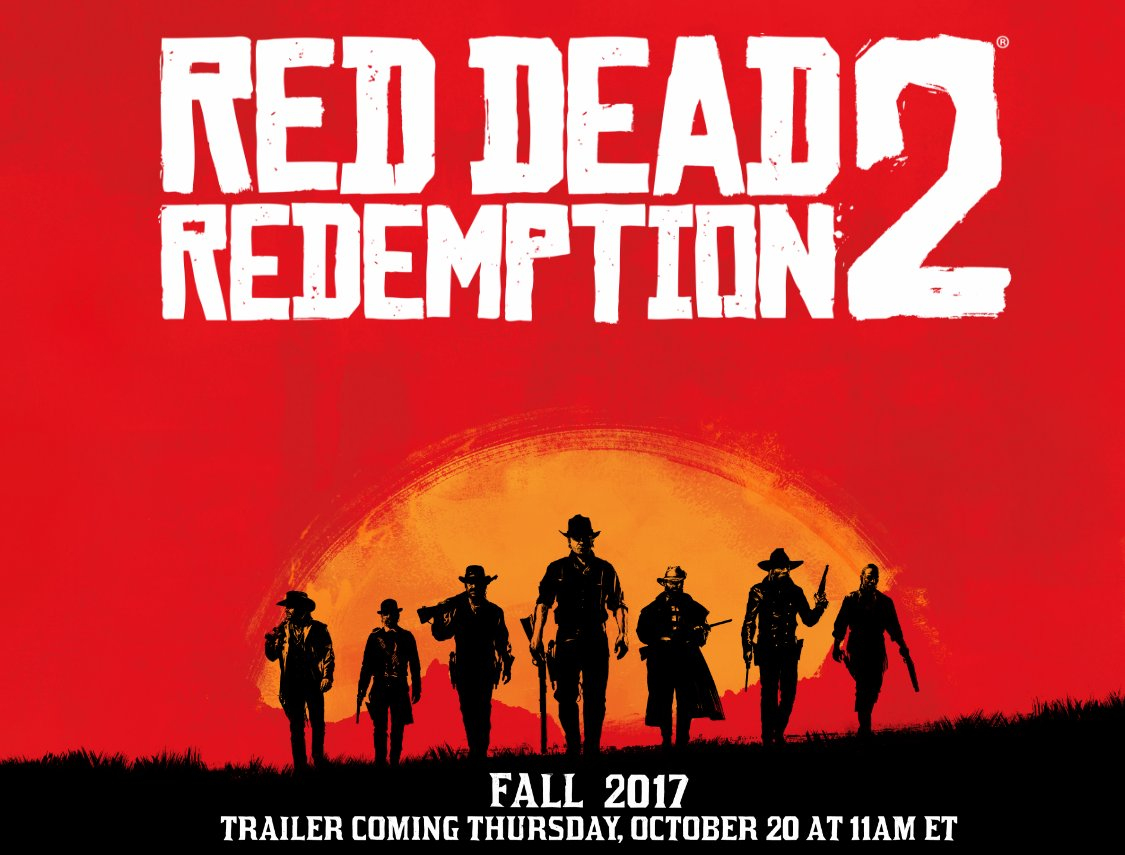 Red Dead Redemption 2 Locked In For Fall 2017, First Trailer Debuts Thursday