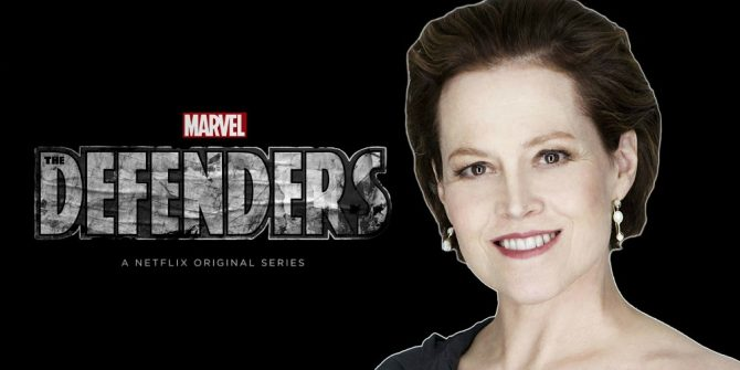 "Sigourney Weaver On The Defenders Villain Role: ""I Have The Most Delicious Character"""