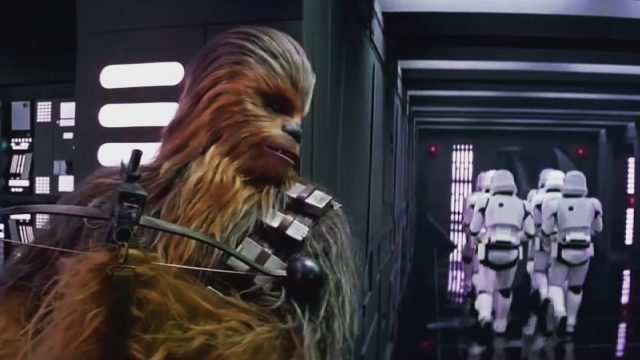 Star Wars: The Force Awakens: Chewbacca Deleted Scene