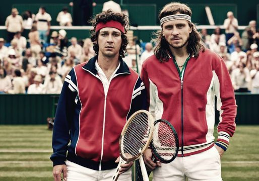 Borg/McEnroe Images Have Shia LaBeouf Channeling Inner Tennis Star