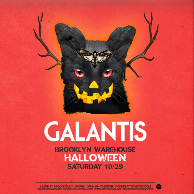 Galantis Announce Brooklyn Warehouse Show For Halloween