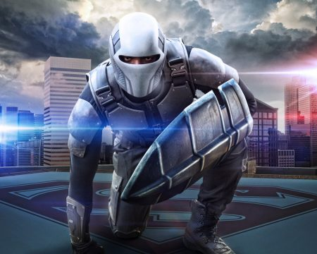 First Look At Mehcad Brooks As The Guardian On Supergirl