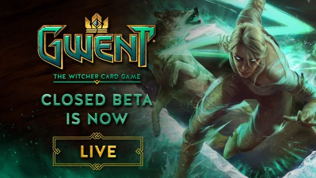 PSA: CD Projekt RED's Gwent: The Witcher Card Game Enters Closed Beta Today