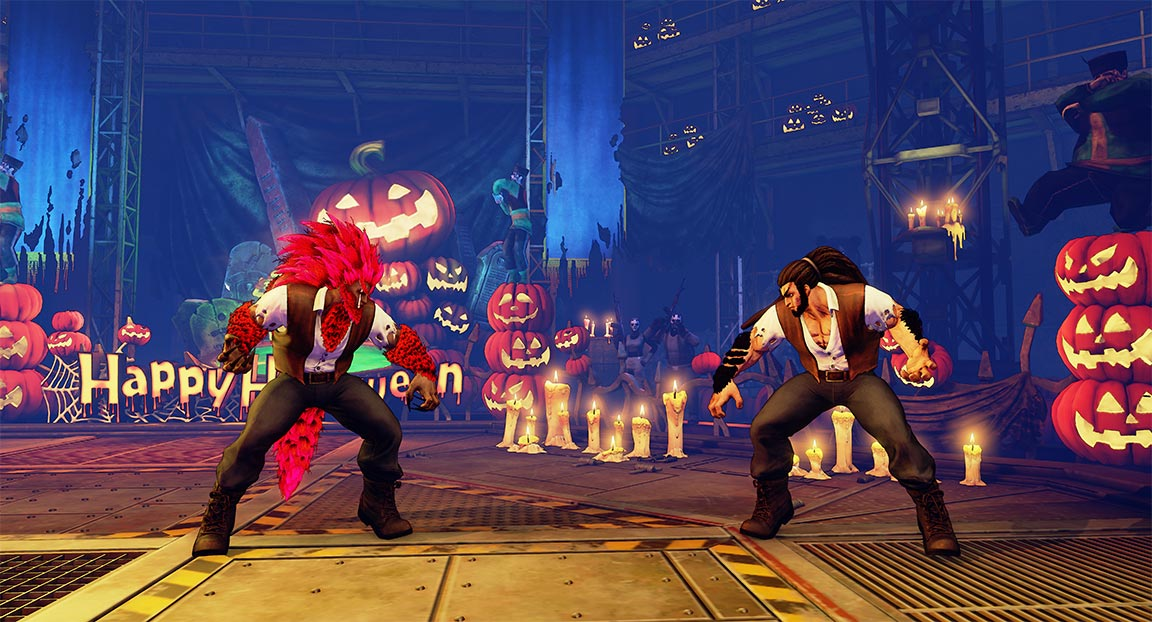 Capcom's Celebrating Halloween With Some Spooky Street Fighter V Costumes