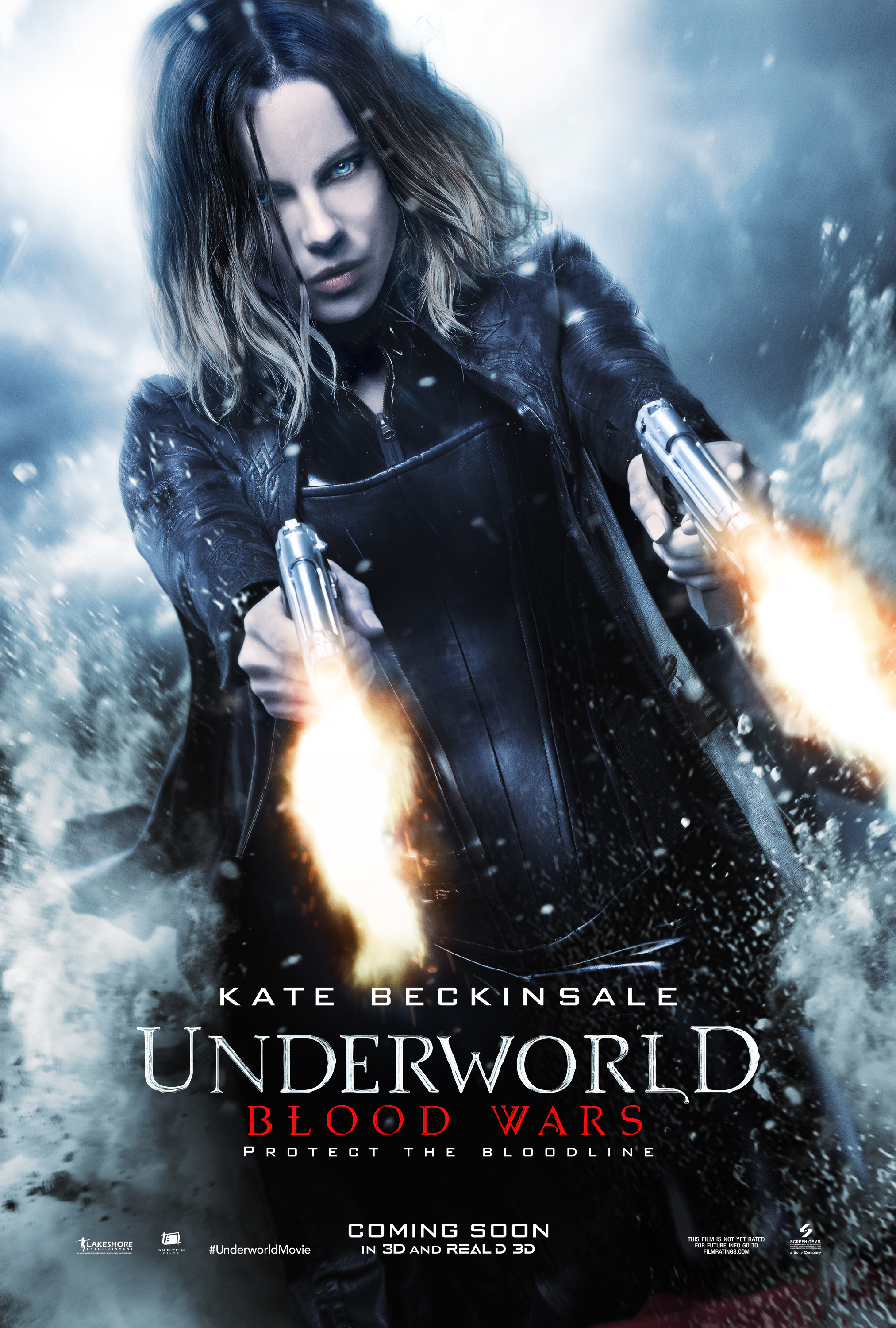 Kate Beckinsale Fires At Will In Dynamic New Underworld: Blood Wars Poster