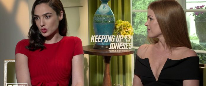 Exclusive Video Interview: Gal Gadot And Isla Fisher Talk Keeping Up With The Joneses