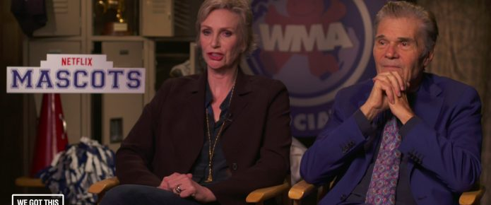 Exclusive Video Interview: Fred Willard And Jane Lynch Talk Mascots