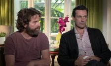 Exclusive Video Interview: Jon Hamm And Zach Galifianakis Talk Keeping Up With The Joneses