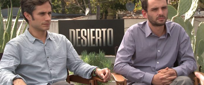 Exclusive Video Interview: Jonás Cuarón And Gael García Bernal Talk Desierto