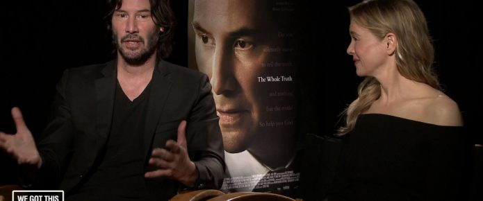 Exclusive Video Interview: Keanu Reeves And Renée Zellweger Talk The Whole Truth