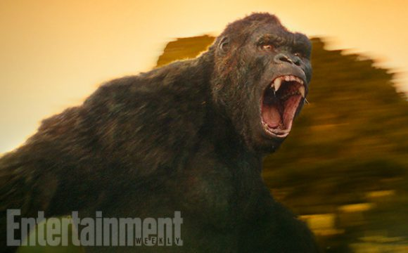 EW Reveals First Look At The Beast In Kong: Skull Island
