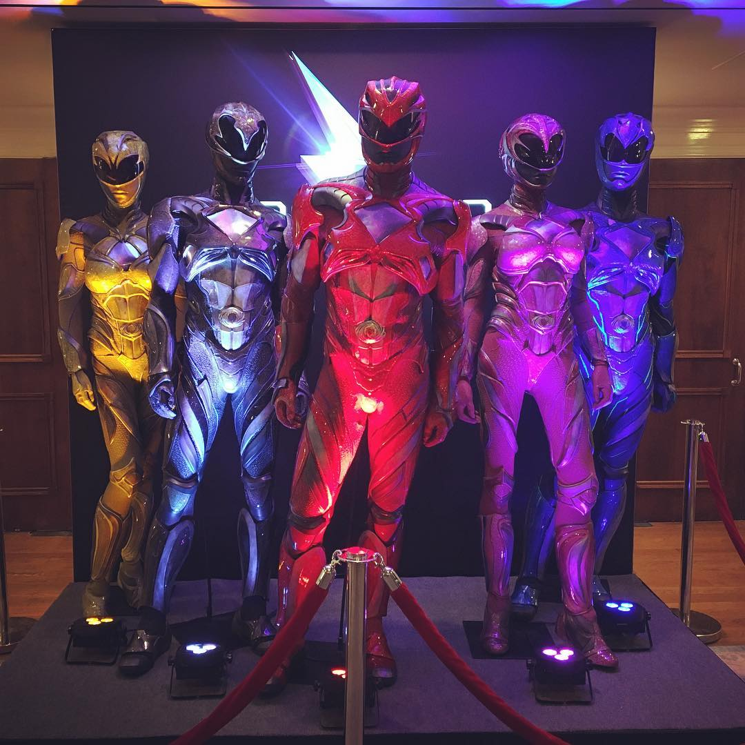Catch A Closer Look At The Power Rangers Movie Costumes