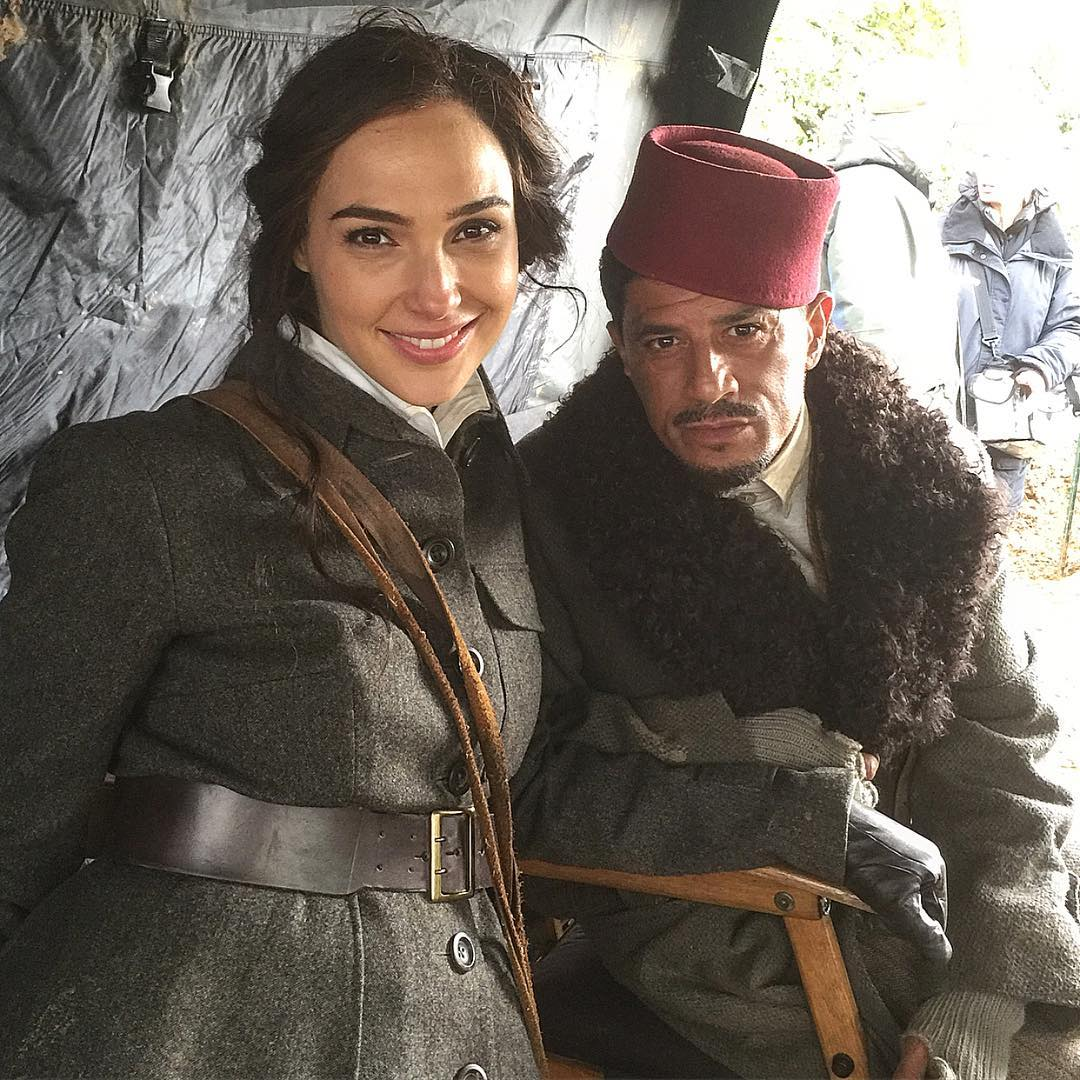 Said Taghmaoui Posts New BTS Photo With Gal Gadot From Wonder Woman Set