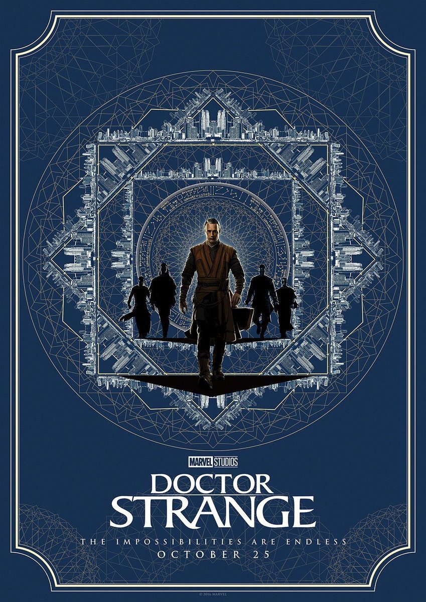 Check Out Some Gorgeous New Doctor Strange Character Posters