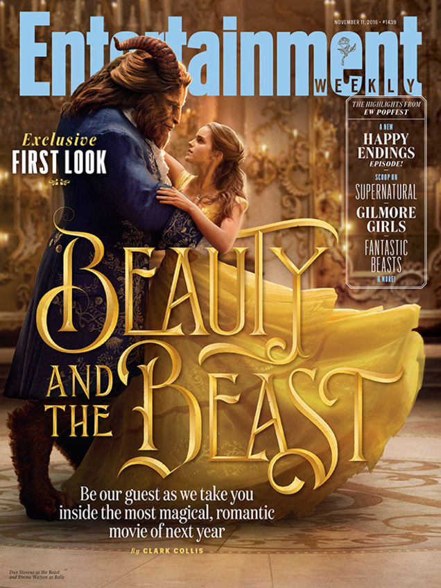 [Updated] Live-Action Beauty And The Beast Adorns Latest EW Cover