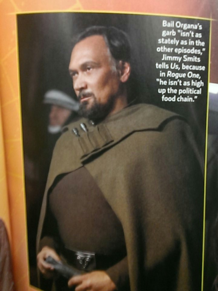 First Look At Jimmy Smits As Bail Organa In Rogue One: A Star Wars Story
