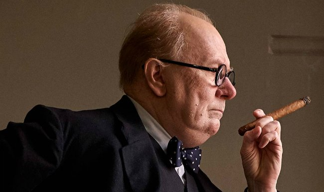 Gary Oldman Braces For Our Darkest Hour In First Look At Churchill Biopic