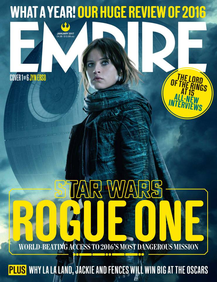 Rogue One Tracking For Sizeable $130 Million Opening Weekend, Empire Covers Spotlight The Rebels