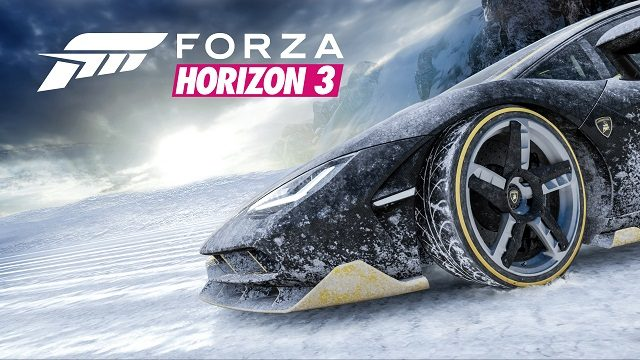 Forza Horizon 3's First Expansion To Trade Sand For Snow, Alpinestars Car Pack Out Now
